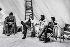 Christopher Reeve, Gene Hackman, Margot Kidder and Sarah Douglas | Rare and beautiful celebrity photos