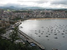Hotel Maria Cristina San Sebastian: City view