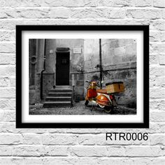 Poster e Cia - Produtos > Retro & Vintage Lambreta, vespa, motocicleta, harley davidson,