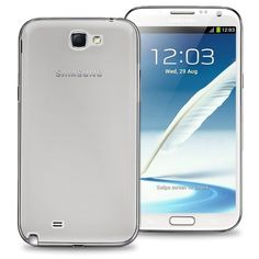 KaysCase Slim Hard Shell Snap-on Cover Case for Samsung Galaxy Note 2 (Clear) KaysCase http://www.amazon.com/dp/B009JYR0ZQ/ref=cm_sw_r_pi_dp_1rHNub0P7390N