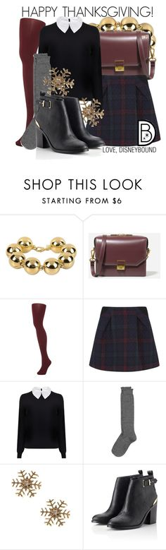"""Happy Thanksgiving!"" by leslieakay ❤ liked on Polyvore featuring Moschino, CHARLES & KEITH, Aristoc, Thakoon Addition, Carven, Nordstrom and Lipsy"