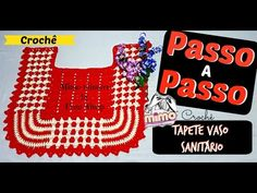 PAP TAPETE ROSE  CROCHE - Tapete BICOLOR- DIY- TUTORIAL COMPLETO - YouTube