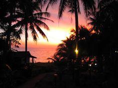 Закат на острове Ко Чанг