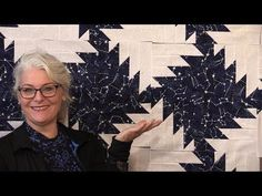 She Sews Triangles To Long Strips And Stacks Them. What She Makes Is So Extraordinary! - DIY Joy