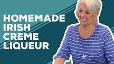 Love & Best Dishes: Homemade Irish Creme Liqueur Recipe - YouTube Cocktails, Drinks, Beverages, Alcohol Recipes, Best Dishes, Paula Deen, Irish, Homemade, Youtube