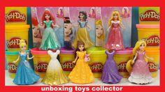 6 Disney Princess Magi Clip Fun Toys Collection Design a Dress with Play...