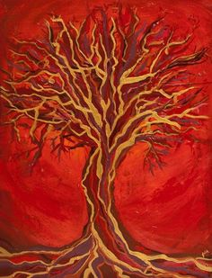 """Check out Mary's new blog post – Every Part of You Longs To Be Healed By Your Heart http://www.maryomalley.com/2015/08/03/every-part-of-you-longs-to-be-healed-by-your-heart/   Painting of """"Lingering Red"""" by Artist Faith Harrison  www.faithharrisonart.com"""