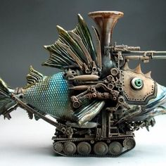 fish tank! By Grafton Pottery https://www.facebook.com/graftonpottery