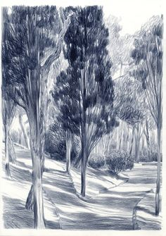 New Landscape Drawing Pencil Ideas Landscape Sketch, Painting Illustration, Art Drawings, Painting, Illustration Art, Art, Abstract, Landscape Art, Landscape Drawings