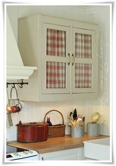 old cottage and small kitchen unit given to the style of the day
