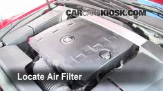 Cadillac does not want you to work on your car! Look at all the plastic under the hood...we show you how to change the cabin air filter on a Cadillac CTS