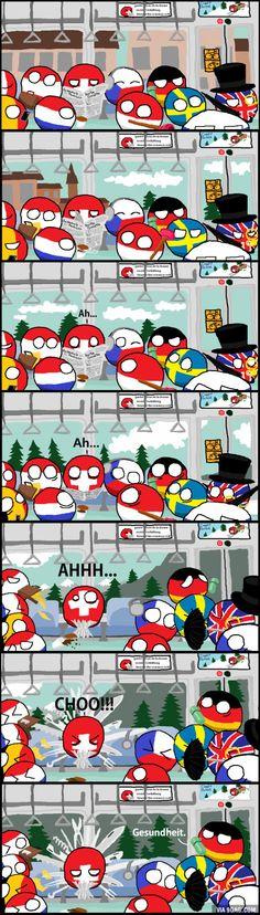 """The cold season"" (Switzerland)"