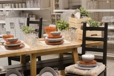 Ikea Home, Table Settings, House, Home, Place Settings, Homes, Houses, Tablescapes