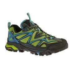 e9d787c7373b Merrell Men s Capra Sport Shoes Black Lime Multi Size 14.0M