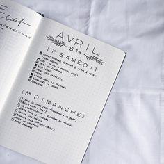 Bullet Journal dailies.   @wezz.bujo