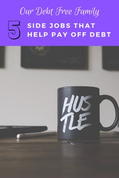 If you need extra cash to pay off debt consider one of these side gigs. These side jobs can help you pay off debt faster. Debt Payoff, Debt Free, Extra Cash, How To Make Money, Hustle, Ideas, Thoughts, Hustle Dance