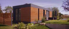 Musterhaus  freelance: Minimalistisch Häuser von smartshack