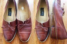 Vintage Italian Caramel Brown Leather Peppy by JustThePrettiest, $28.00