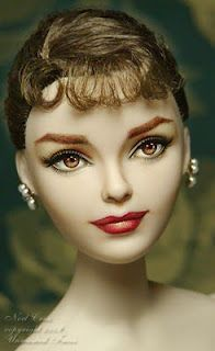 Audrey Hepburn #doll