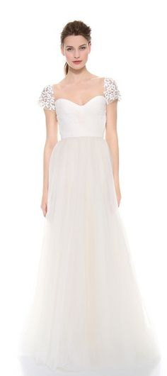 Reem Acra wedding gown - 30% off when you use code: BIGEVENT14 ends 2/27. Click through for details. http://rstyle.me/n/faccn2bn