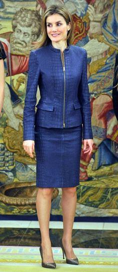 March 14, 2014... Princess Letizia of Spain