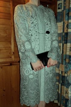 """Верхняя одежда ручной работы. Ярмарка Мастеров - ручная работа. Купить Из серии """"Летнее пальто"""". Handmade. Серый"""