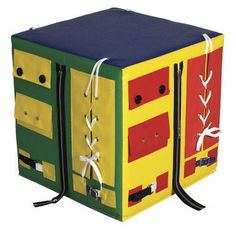 Dress Me Up and Learn Cube   Honor Roll Childcare Supply - Daycare Furniture and Preschool Supplies
