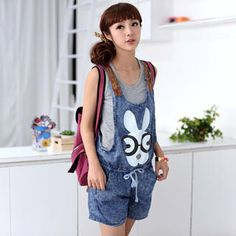 Buy '59 Seconds – Rabbit Print Jumper Shorts' with Free International Shipping at YesStyle.com. Browse and shop for thousands of Asian fashion items from Hong Kong and more!