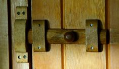 The wooden door-latch, photo by contrariaN creativE More