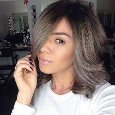 6 Great Balayage Short Hair Looks – Stylish Hairstyles Ash Brown Hair Balayage, Ash Blonde Hair, Balayage Hair, Haircolor, Love Hair, Great Hair, Gorgeous Hair, Corte Y Color, Medium Hair Cuts
