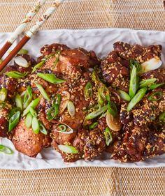 Illatos-omlós szezámos csirke recept   Street Kitchen Mozzarella, Cheddar, Hawaii, Food And Drink, Beef, Street, Kitchen, Heaven, Meat