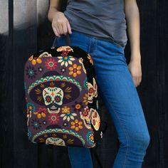 Day of the Dead Backpack Vera Bradley Backpack, Backpacks, Shoulder Bag, Pocket, Detail, Bags, Fashion, Purses, Moda