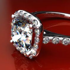 love this halo ring! so sparkly:-)