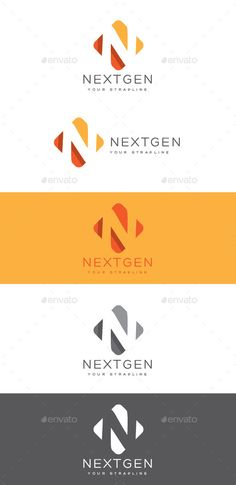 Nextgen Letter N Logo — Vector EPS #shadow #product • Available here → https://graphicriver.net/item/nextgen-letter-n-logo/8863699?ref=pxcr