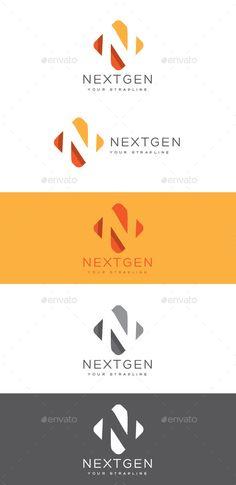 Nextgen Letter N Logo — Vector EPS #shadow #product • Available here → https://graphicriver.net/item/nextgen-letter-n-logo/8863699?ref=pxcr