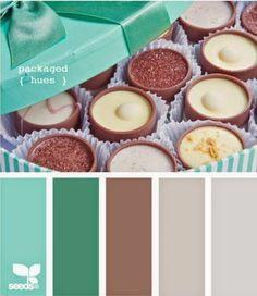 Inspiration Création Blog: Combo de décembre {By Anne, Carol #colorpalette #branding #webdesign #blog #blogging #mint