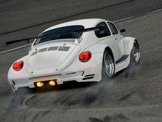 Looks like a beetle, with a porsche rear kit