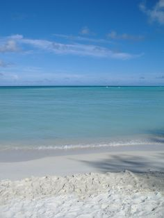 Quiet beach on the island of Saipan in the Pacific Ocean