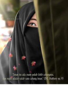 Black on black Arab Girls Hijab, Muslim Girls, Muslim Couples, Muslim Women, Anime Muslim, Muslim Hijab, Hijabi Girl, Girl Hijab, Wedding Hijab Styles