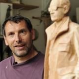 Willy Verginer-Italian sculptor (1957). Creates amazing wooden sculptures. Considered one of the leaders of the new magic realism.