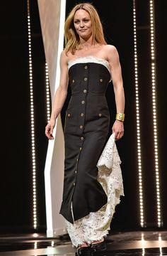 VANESSA PARADIS in Chanel  - 2016 Cannes Film Festival