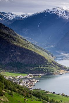 Sognefjord, Norway - one of the most beautiful sights I've ever seen. May 2011.