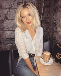 k mentions J'aime, 53 commentaires - Laura Jade Stone . Summer Outfits, Casual Outfits, Cute Outfits, Laura Jade Stone, Short Blonde Bobs, Look Fashion, Fashion Outfits, Fashion Tips, Blonde Bob Hairstyles