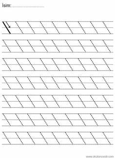 Printable Preschool Worksheets, Kindergarten Math Worksheets, Writing Worksheets, Preschool Writing, Numbers Preschool, Prewriting Skills, Preschool Learning Activities, Pre Writing, Pre School