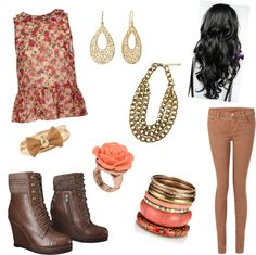"""""""My Outfit:)"""" by melodebbie ❤ liked on Polyvore"""