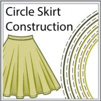 Sewing Skirts Sewing instructions for classic circle skirt. - Puffed Sleeves - Classic circle skirt has just a few pattern pieces, but to do it well you need to have some experience with sewing zippers and working with bias-cut fabric. Baby Girl Dress Patterns, Skirt Patterns Sewing, Sewing Patterns For Kids, Doll Clothes Patterns, Sewing Clothes, Clothing Patterns, Skirt Sewing, Diy Clothes, Circle Skirt Pattern