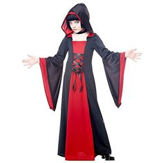 California Costumes Hooded Robe Child Costume, Medium * Details can be found by clicking on the image.