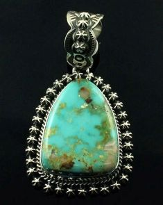 Chili Pepper Oval Turquoise With Round Carnelian Sterling Silver Pendant A Great Variety Of Goods Other Fine Jewellery