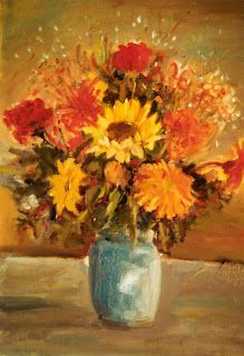 Bouquet de fleurs (2000)... #Art #Artiste