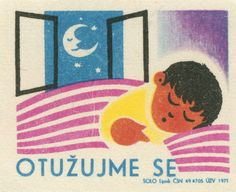 czechoslovakian matchbox label | by maraid Children's Book Illustration, Book Illustrations, Childrens Books, Old Things, Retro, Movie Posters, Inspiration, Vintage, Label